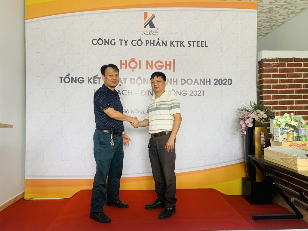 hội nghị tổng kết kinh doanh ktk steel